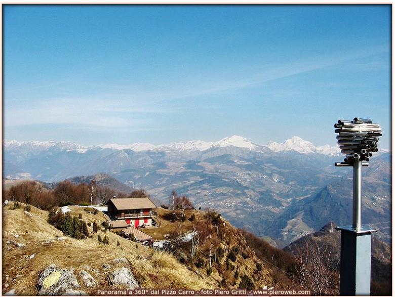 Pizzo Cerro con rifugio